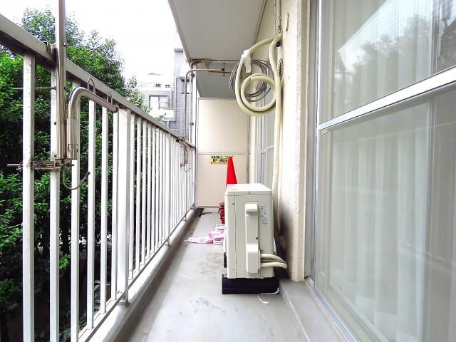 日商岩井第2玉川台マンション バルコニー