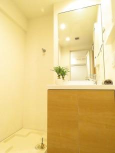 マリンシティダイヤモンドパレス 洗濯機置場と洗面化粧台