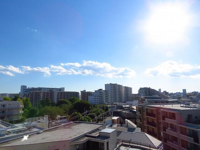 東山コーポラス バルコニー側眺望