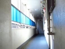 自由ヶ丘第七コーポ 共用廊下