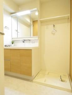 藤和南大塚コープ 洗面化粧台と洗濯機置場