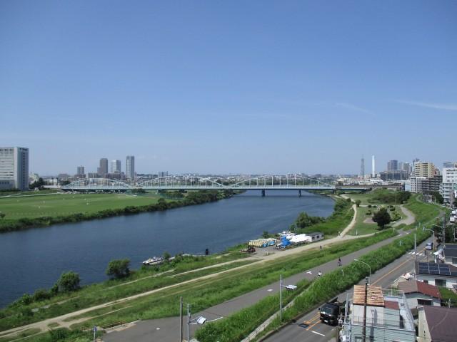 多摩川芙蓉ハイツ 8眺望2
