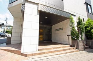 オープンレジデンシア桜新町 エントランス