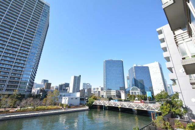 クレストフォルム田町ベイサイドコート バルコニー
