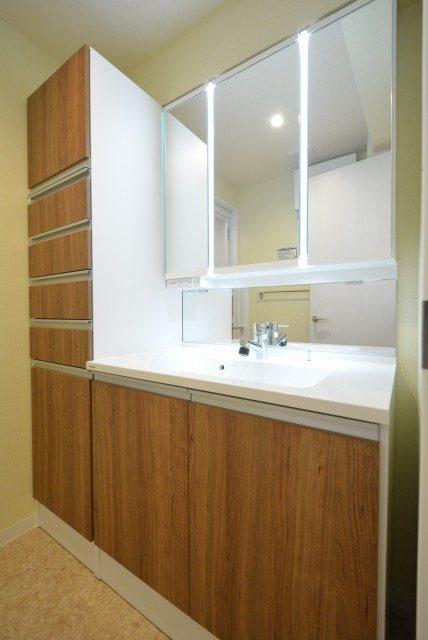 フリーディオ芝公園アネックス 洗面室