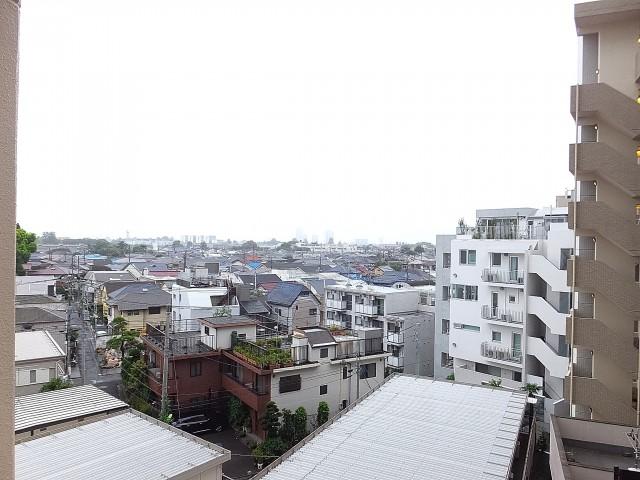 ライオンズマンション駒沢 バルコニー眺望