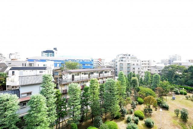ガーデン堀ノ内住宅 バルコニー眺望
