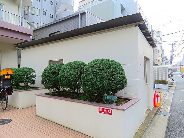 日商岩井第2玉川台マンション ゴミ置き場