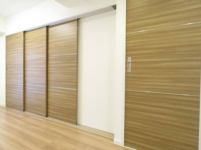 サンビューハイツ哲学堂 洋室と洗面室扉
