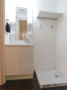 藤和三軒茶屋コープ 洗面化粧台と洗濯機置場