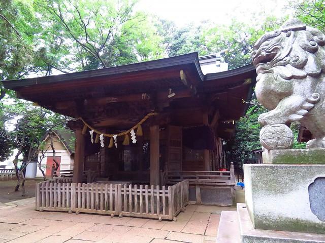 東急ドエルアルス碑文谷 八幡神社