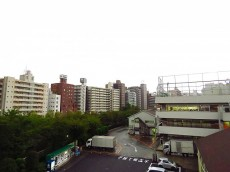 グランテラッセ西早稲田 共用廊下眺望
