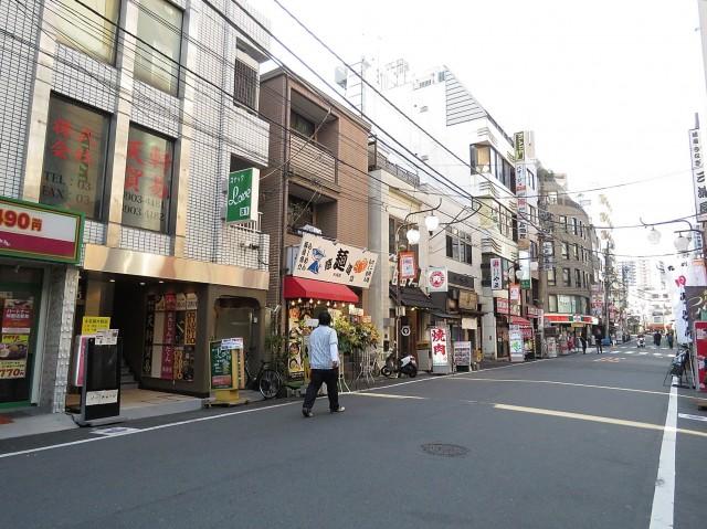 大塚スカイマンション 商店街