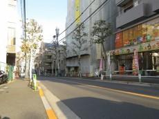 大塚スカイマンション 前面道路