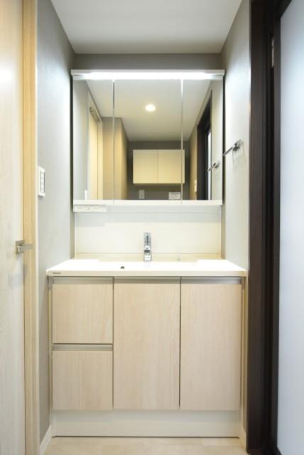 クレストフォルム田町ベイサイドコート 洗面室