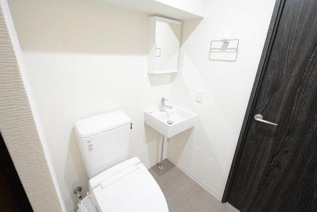 メゾン池尻大橋 洗面・トイレ