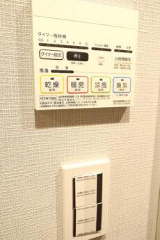 朝日シティパリオ高輪台A館 洗面浴室 (8)