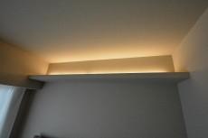 赤坂台マンション 5.2帖洋室の間接照明