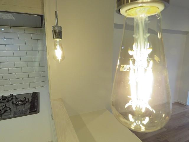 ライオンズマンション桜新町 キッチン照明