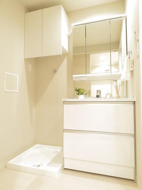 ハイライフ大森 洗面化粧台と洗濯機置場
