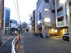 藤和島津山コープ 前面道路