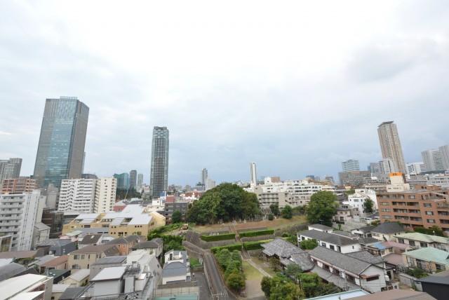 赤坂台マンション バルコニー