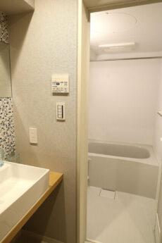 朝日シティパリオ高輪台A館 洗面浴室