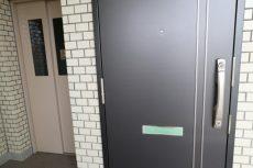 エンゼルハイム大井 玄関