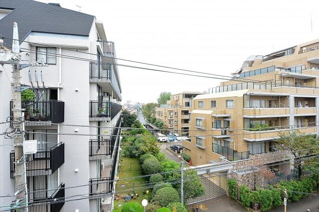 第2桜新町ヒミコマンション LDKバルコニー眺望