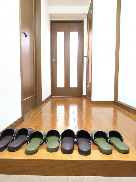 日商岩井大岡山第2マンション 廊下