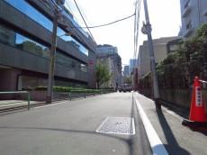 シャトー赤坂 前面道路