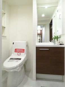 氷川アネックス2号館 トイレと洗面化粧台