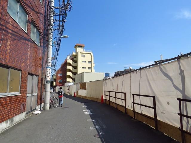 ベルディ早稲田東 前面道路