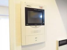 ライオンズマンション飯田橋 TVモニター付きインターホン