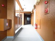 ライオンズマンション飯田橋 共用廊下