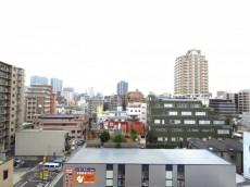 ライオンズマンション飯田橋 共用廊下眺望
