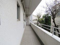 マコトパレス 共用廊下
