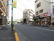 メゾン上野毛 前面道路
