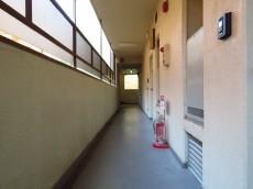 カルム第二赤坂 共用廊下