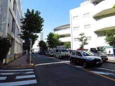 カルム第二赤坂 前面道路