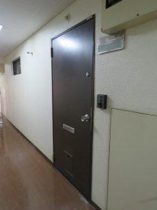 ライオンズマンション神楽坂第3 玄関扉