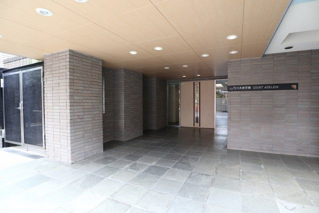 アルス代々木参宮橋コートアデリオン 入口周辺