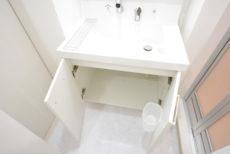 成城コーポ 洗面室