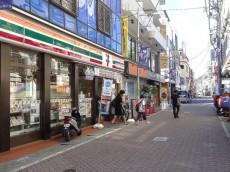 祐天寺第2コーポラス 商店街