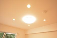 シャトー東洋南青山 6.2帖洋室の照明