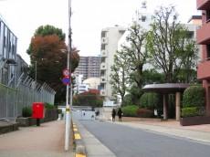 渋谷美竹ハイム 前面道路
