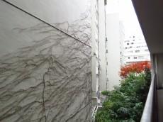 千駄ヶ谷第一スカイハイツ 洋室側バルコニー眺望