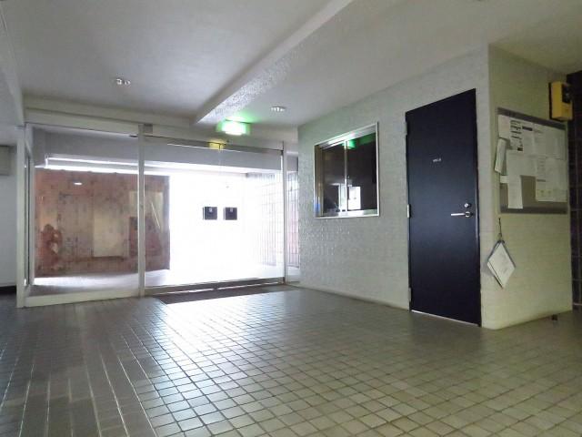 千駄ヶ谷第一スカイハイツ エントランスホール