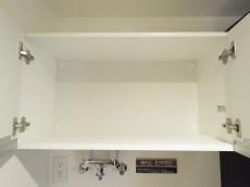 小石川ハウス 洗濯機置場上の棚