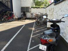秀和新川レジデンス 駐輪場